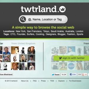 using twtrland to find twitter followers
