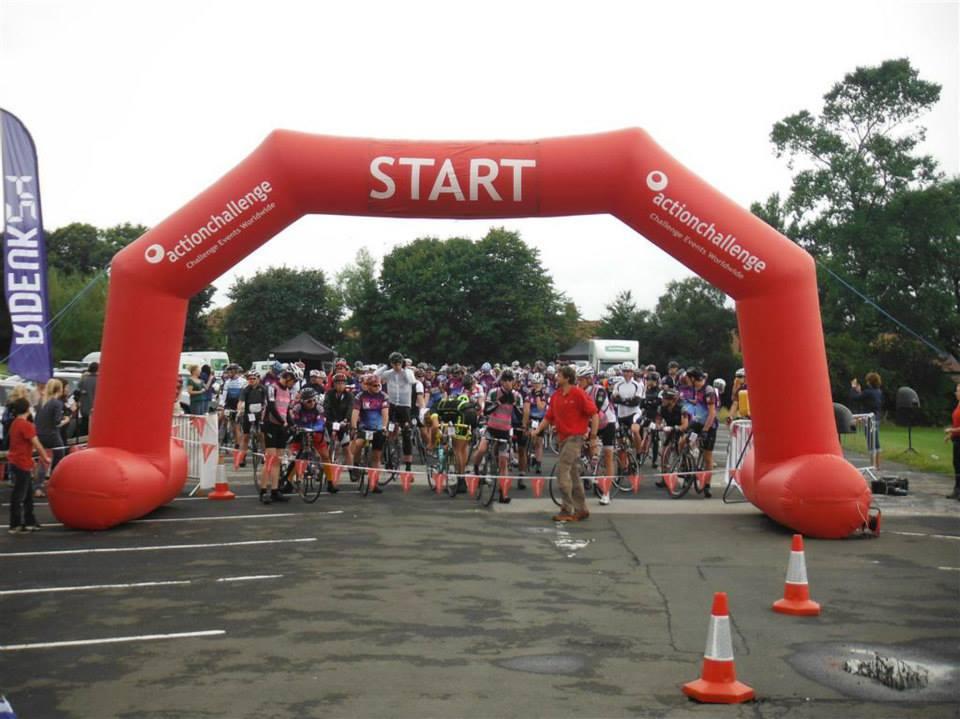 RIDEUK24 cycle challenge